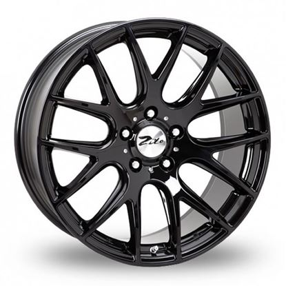 "18"" Zito 935 Gloss Black Alloy Wheels"