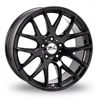 """22"""" Zito 935 Gloss Black Alloy Wheels"""
