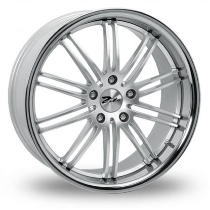 """19"""" Zito Belair Hyper Silver Alloy Wheels"""