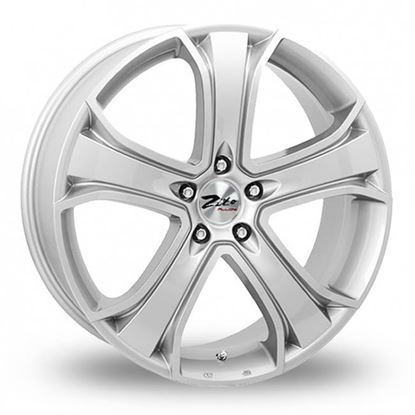 "22"" Zito Blazer Silver Alloy Wheels"