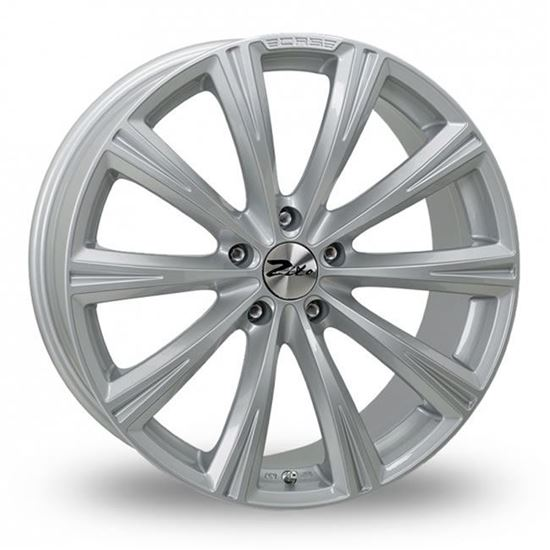 "18"" Zito CRS Silver Alloy Wheels"