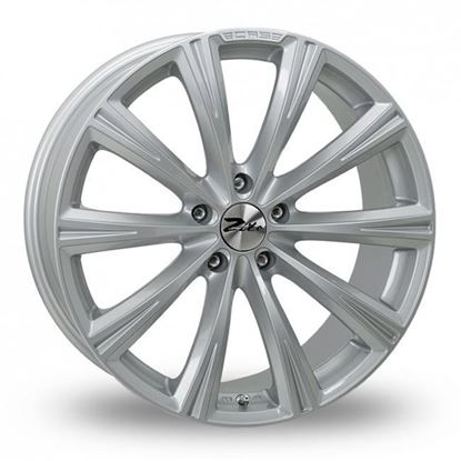 "20"" Zito CRS Silver Alloy Wheels"