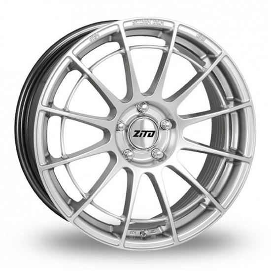 "17"" Zito DG13 Hyper Silver Alloy Wheels"