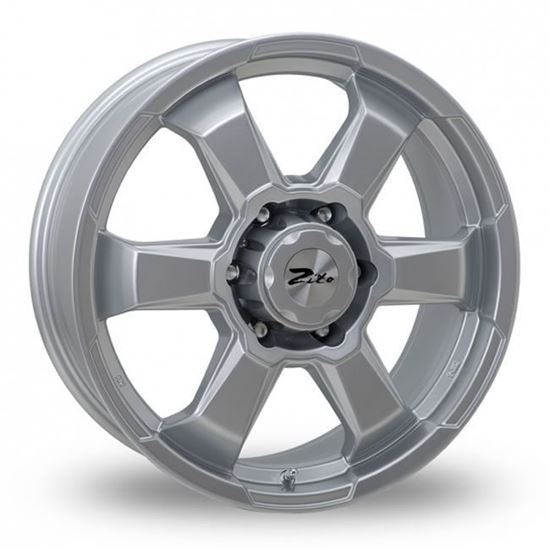 "15"" Zito SJ19 Silver Alloy Wheels"