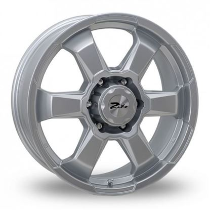 "18"" Zito SJ19 Silver Alloy Wheels"