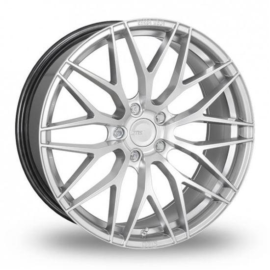 """17"""" Zito ZF01 Hyper Silver Alloy Wheels"""