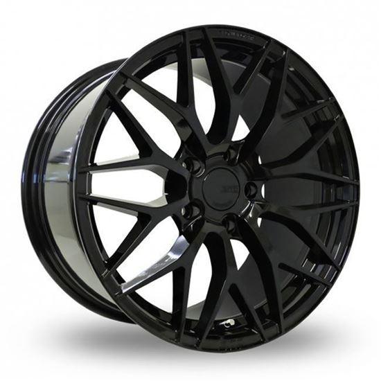 """19"""" Zito ZF01 Gloss Black Alloy Wheels"""
