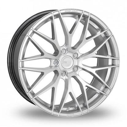 """19"""" Zito ZF01 Hyper Silver Alloy Wheels"""