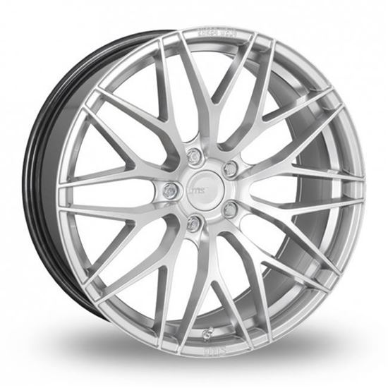 "20"" Zito ZF01 Hyper Silver Alloy Wheels"