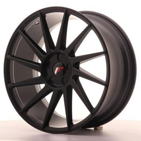 Japan Racing JR22 Matt Black Alloy Wheels