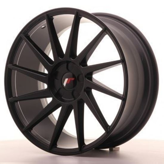 Japan Racing JR22 Matt Black Alloy Wheels