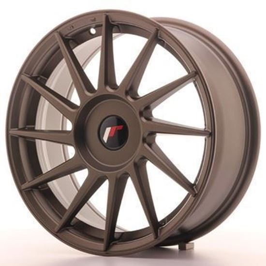 Japan Racing JR22 Matt Bronze Alloy Wheels