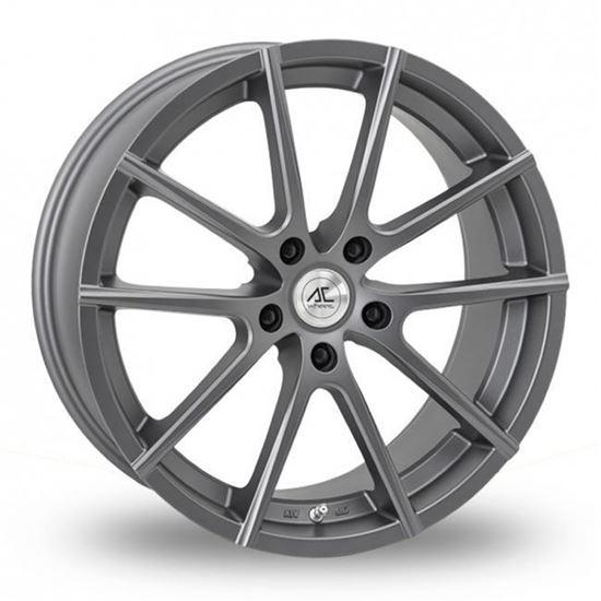 """19"""" AC Wheels Cruze Matt Dark Grey Alloy Wheels"""