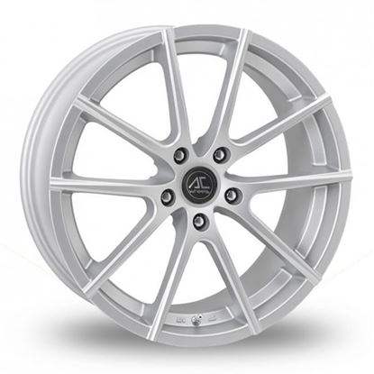 "19"" AC Wheels Cruze Matt Silver Alloy Wheels"