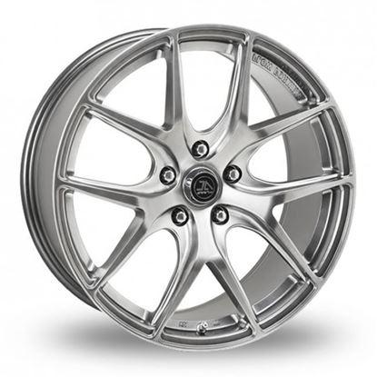 """18"""" AC Wheels FF007 Hyper Black Alloy Wheels"""