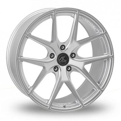 """19"""" AC Wheels FF007 Hyper Silver Alloy Wheels"""