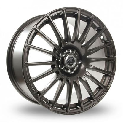"18"" AC Wheels Nikki Grey Alloy Wheels"
