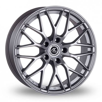 "16"" AC Wheels Saphire Matt Silver Alloy Wheels"