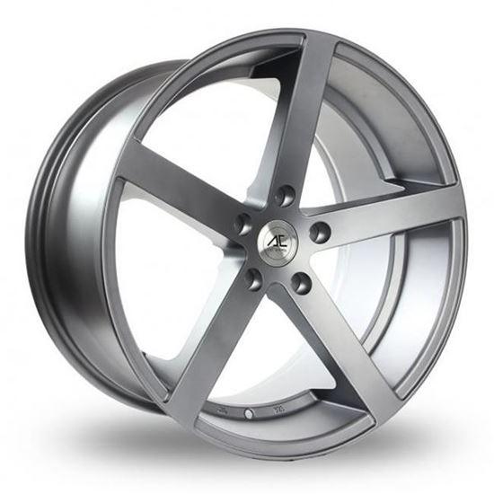"17"" AC Wheels Star 5 Matt Grey Alloy Wheels"