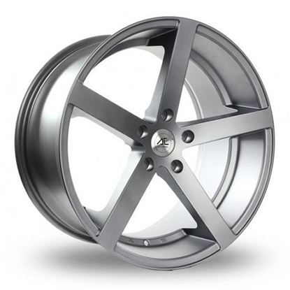 "22"" AC Wheels Star 5 Matt Grey Alloy Wheels"