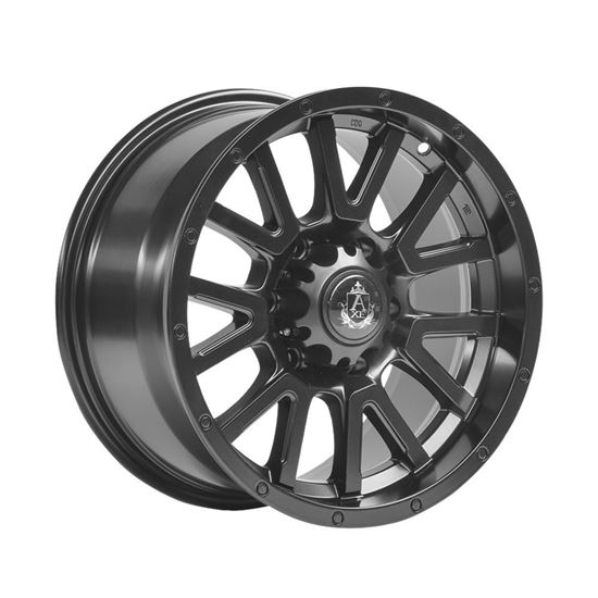 "17"" Axe At1 Satin Black Alloy Wheels"