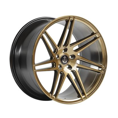 "20"" Axe EX31 Brushed Bronze Alloy Wheels"