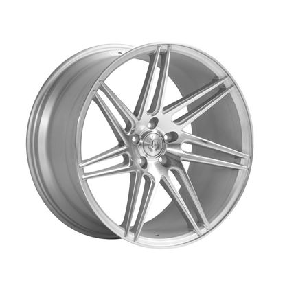 "20"" Axe EX31 Silver Polished Face Alloy Wheels"