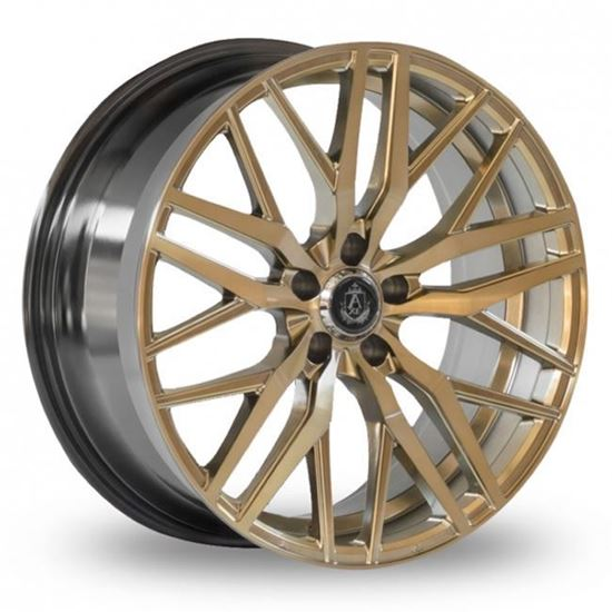 "22"" Axe EX30 Brushed Bronze Alloy Wheels"