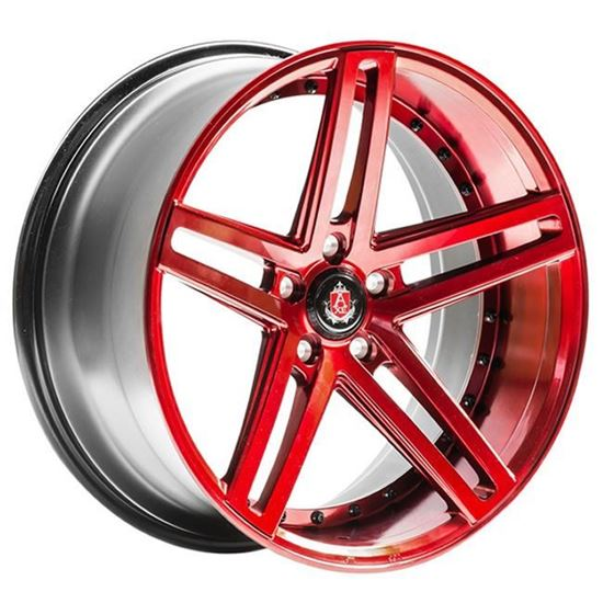 """20"""" Axe EX20 Special Edition Candy Red Alloy Wheels"""