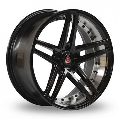 "20"" Axe EX20 Gloss Black Polished Alloy Wheels"