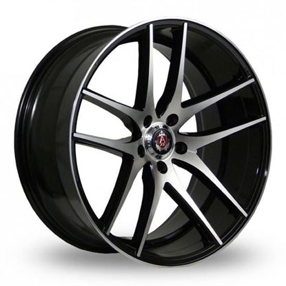"20"" Axe EX19 Gloss Black Polished Face Alloy Wheels"