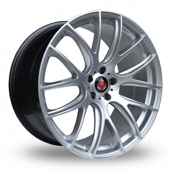 "18"" Axe CS Lite Hyper Silver Alloy Wheels"