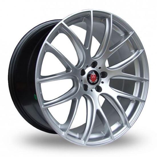 """19"""" Axe CS Lite Hyper Silver Alloy Wheels"""