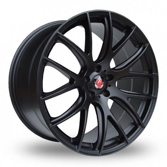 "19"" Axe CS Lite Matt Black Alloy Wheels"