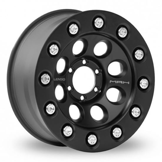 "20"" Lenso Max 3 Matt Black Alloy Wheels"