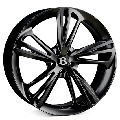 "22"" Hawke Aquila Black Alloy Wheels"