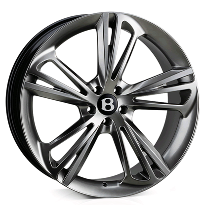 "22"" Hawke Aquila Hyper Black Alloy Wheels"