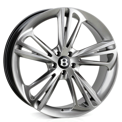 "22"" Hawke Aquila Silver Alloy Wheels"