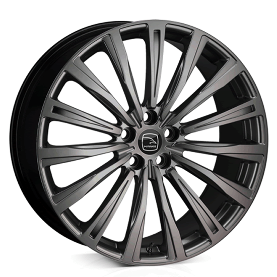 "22"" Hawke Chayton Matt Black Alloy Wheels"