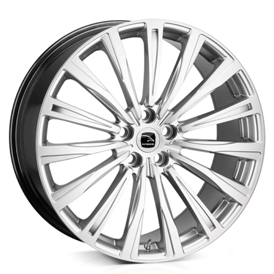 "22"" Hawke Chayton Silver Alloy Wheels"