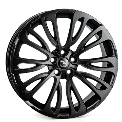 "22"" Hawke Halcyon Gloss Black Alloy Wheels"