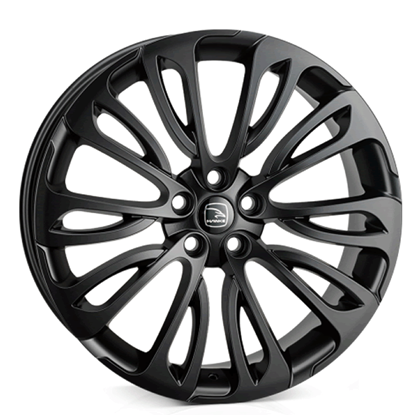 "22"" Hawke Halcyon Matt Black Alloy Wheels"