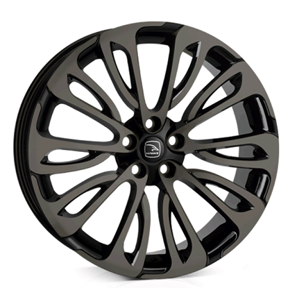 "22"" Hawke Halcyon Black Shadow Alloy Wheels"