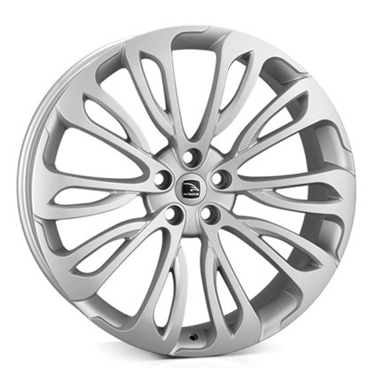 "23"" Hawke Halcyon Matt Silver Alloy Wheels"