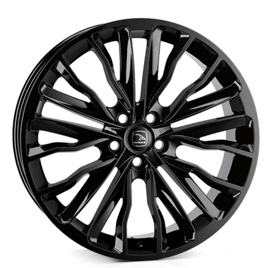"20"" Hawke Harrier Gloss Black Alloy Wheels"