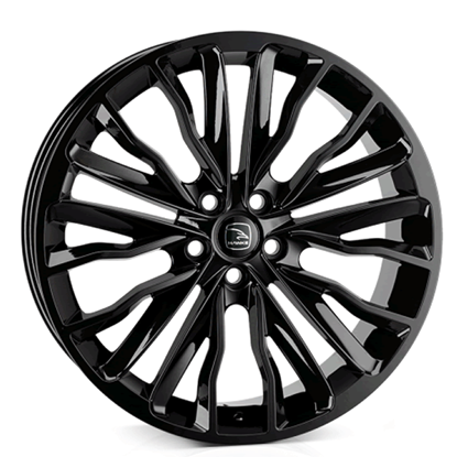 "22"" Hawke Harrier Gloss Black Alloy Wheels"