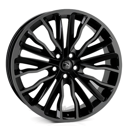 "22"" Hawke Harrier Black Shadow Alloy Wheels"