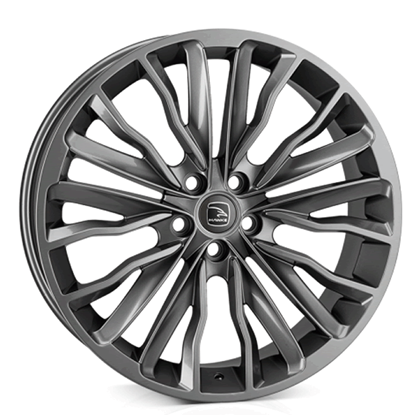 "22"" Hawke Harrier Gun Metal Alloy Wheels"