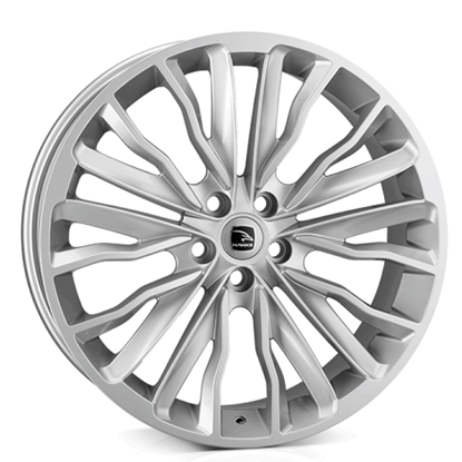 "22"" Hawke Harrier Silver Alloy Wheels"