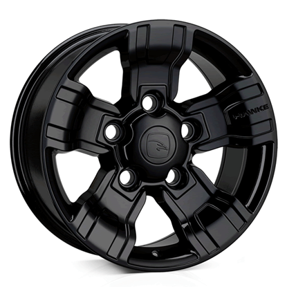 "18"" Hawke Osprey Gloss Black Alloy Wheels"